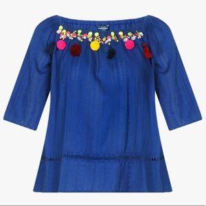 Top/blouse/ shoulder top